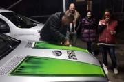 Брендиране на автомобил Mercedes AMG